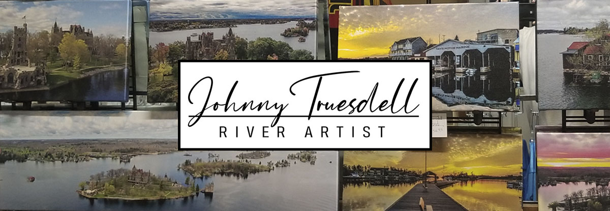 Johnny Truesdell - 1000 Islands River Artist Logo